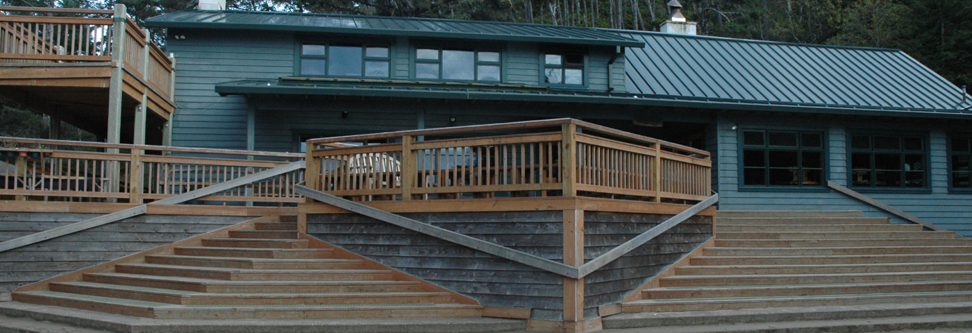 Wilson Lodge - heart of camp
