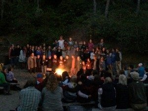 Campfire at Camp Westwind