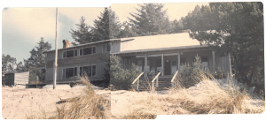 Wilson Lodge in late winter of 1976. Photo courtesy of U.S. Forest Service (3/11/76)