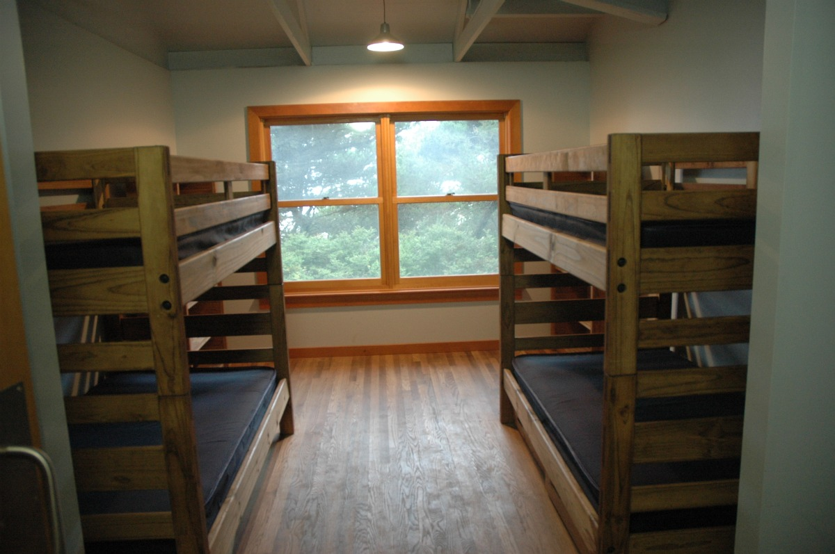 McIver Dormitory - home of program staff, volunteers (and available for rent when available)