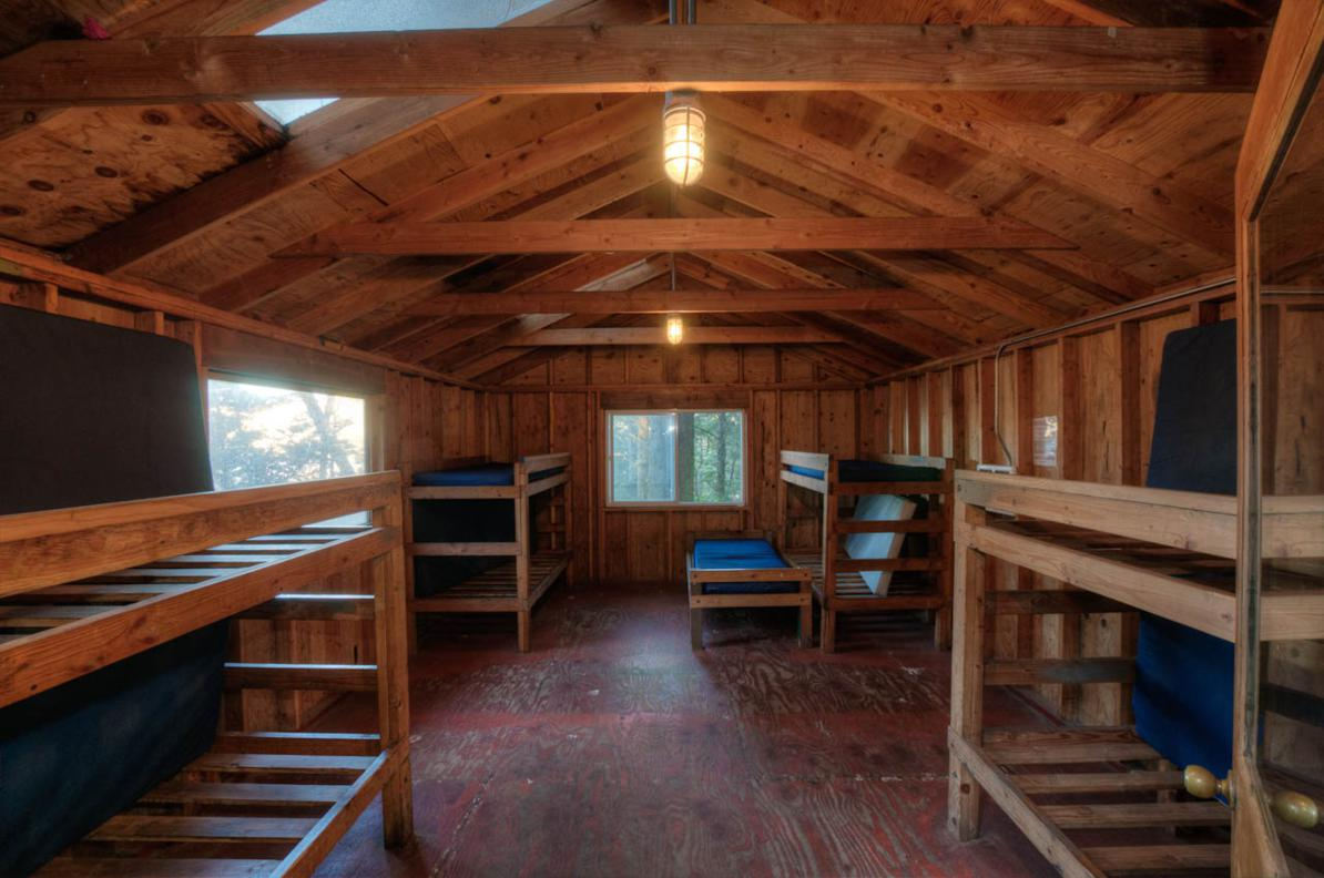 Cabin interior (Hidel - in the Highlands unit)