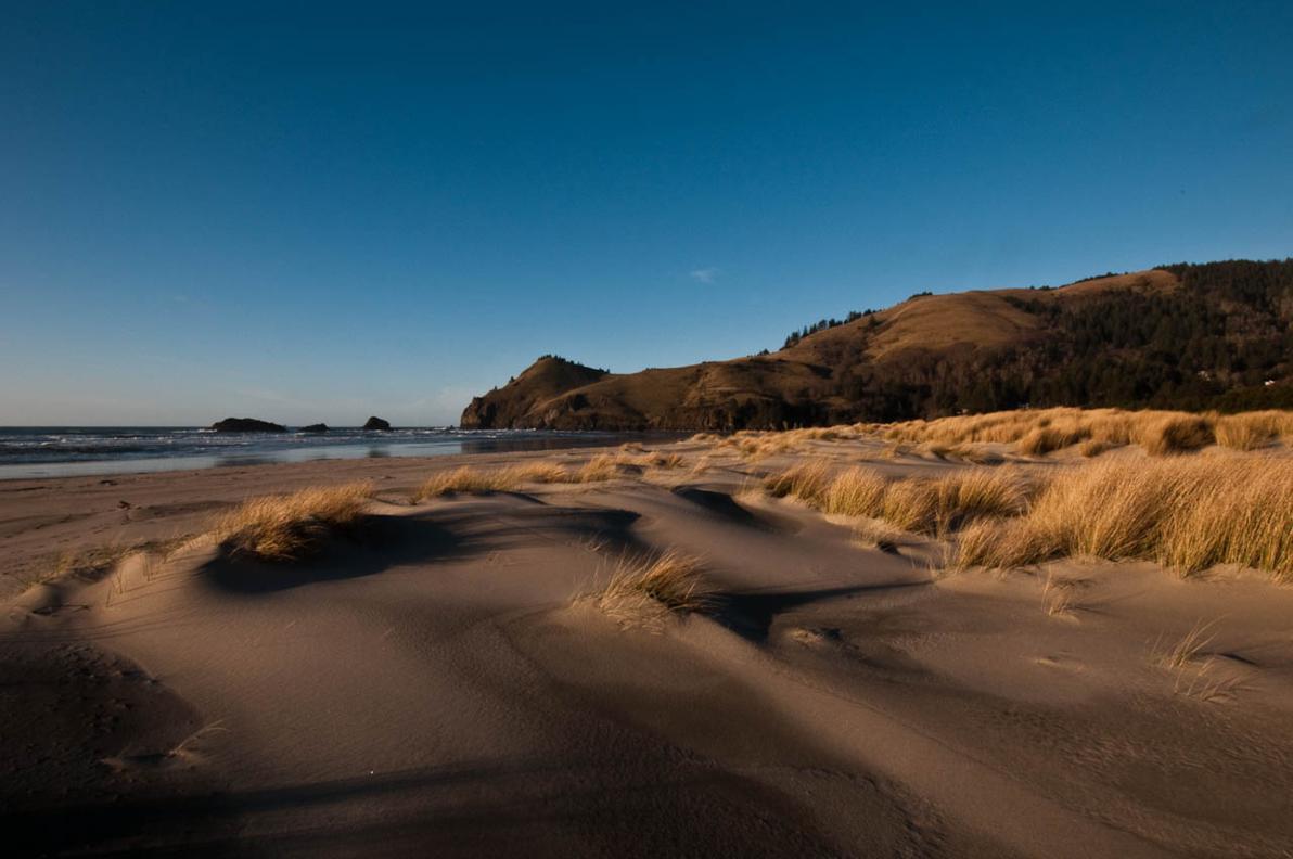 Cascade Head as seen from Westwind beach