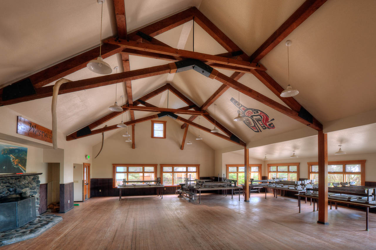 Wilson Lodge - cleared for dancing!
